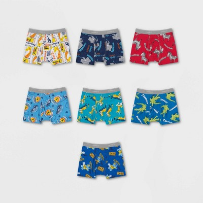 Hanes Toddler Boys' Day of the Week Printed Briefs 7pk - Colors Vary 2T-3T