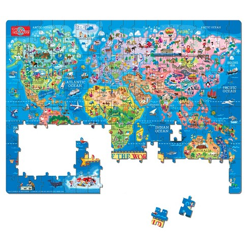 T.S. Shure - Map Of The World Jigsaw Puzzle, 200-Piece : Target