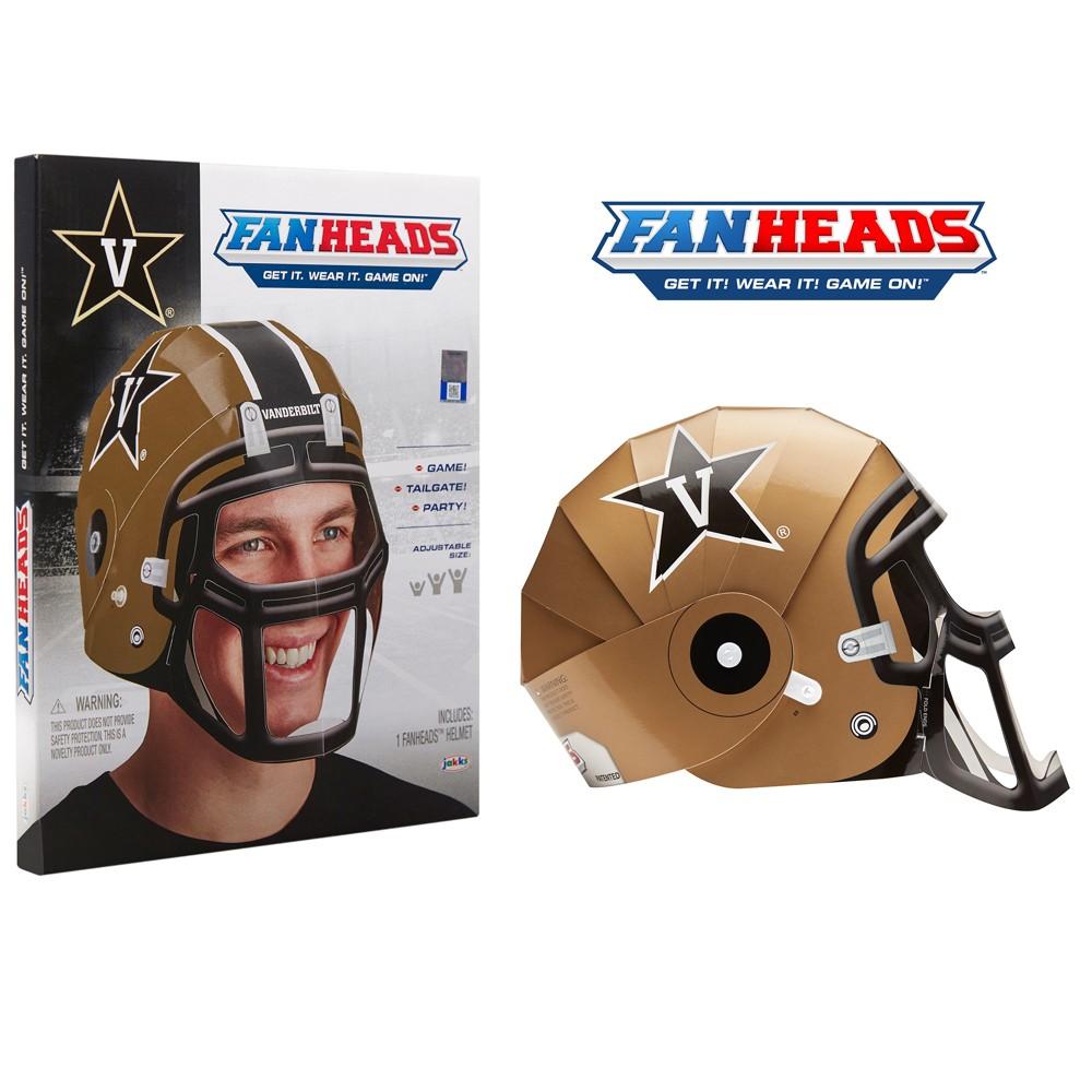 NCAA Vanderbilt Commodores Paper Football Helmet, Adult Unisex, Multi-Colored