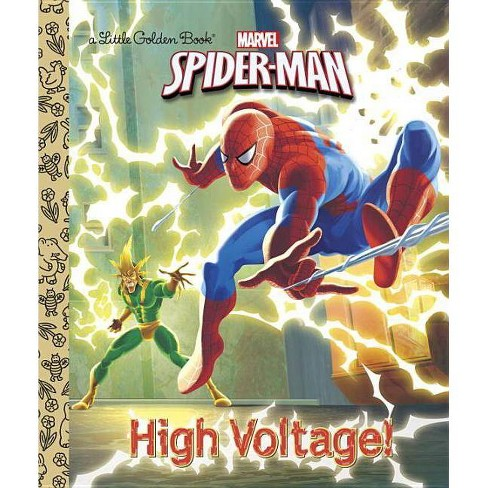 High Voltage! - (Spider-Man (Little Golden Books)) by  Frank Berrios (Hardcover) - image 1 of 1