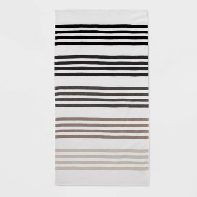 Gradient Stripe Beach Towel - Sun Squad™