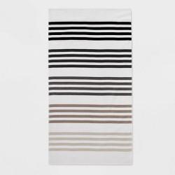 Gradient Stripe Beach Towel - Sun Squad™