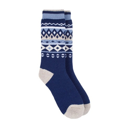 Always Warm by Heat Holders Women's LITE™ Nordic Thermal Crew Socks - Soft Navy 5-9 - image 1 of 2