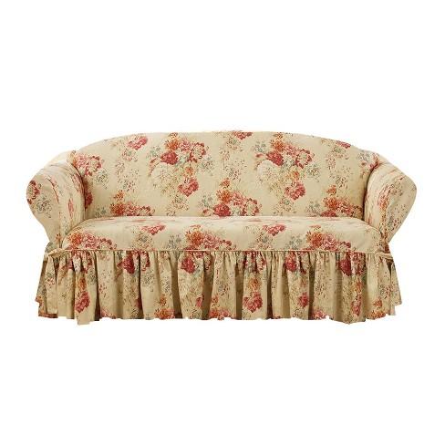Astonishing Ballad Bouquet Loveseat Slipcover Waverly Pdpeps Interior Chair Design Pdpepsorg