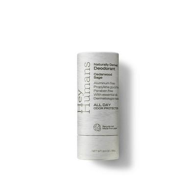 Hey Humans Natural Deodorant Cedarwood Sage - 2oz