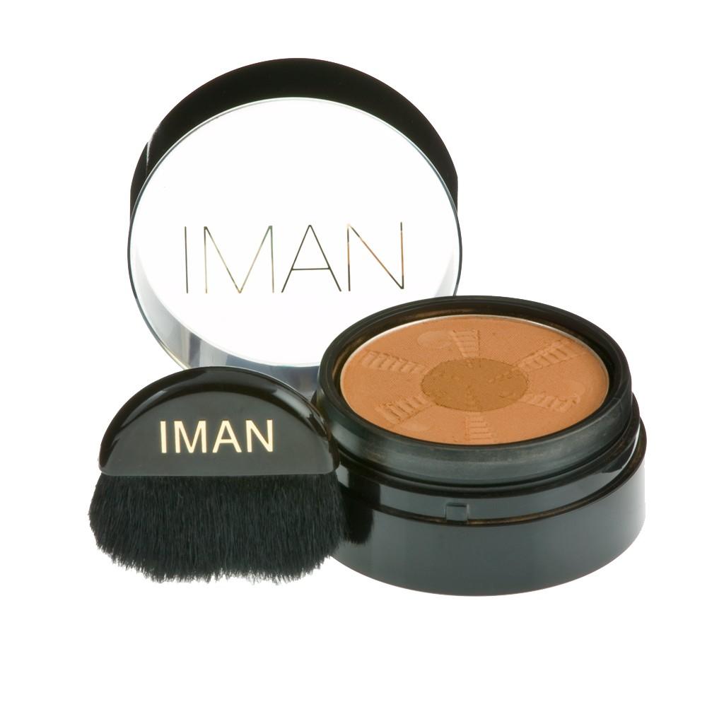 Image of IMAN Second to None Semi Loose Powder - Medium Dark, Clay Medium/Dark