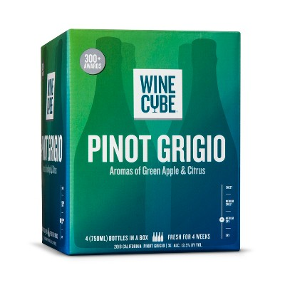 Pinot Grigio White Wine- 3L Box - Wine Cube™