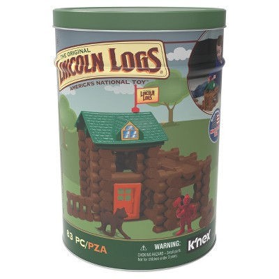 K'nex® Lincoln Logs - 83pc