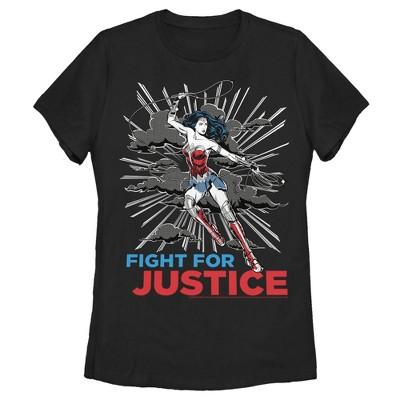 Women's Wonder Woman 1984 Justice Fighter T-Shirt