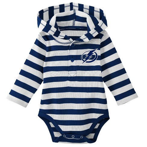 NHL Tampa Bay Lightning Boys' Newborn/Infant Sleeper Bodysuit - image 1 of 1