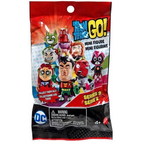 new Teen Titans Go Series 3 Blind Bag Mini Figure 1 Random mystery collect all 8