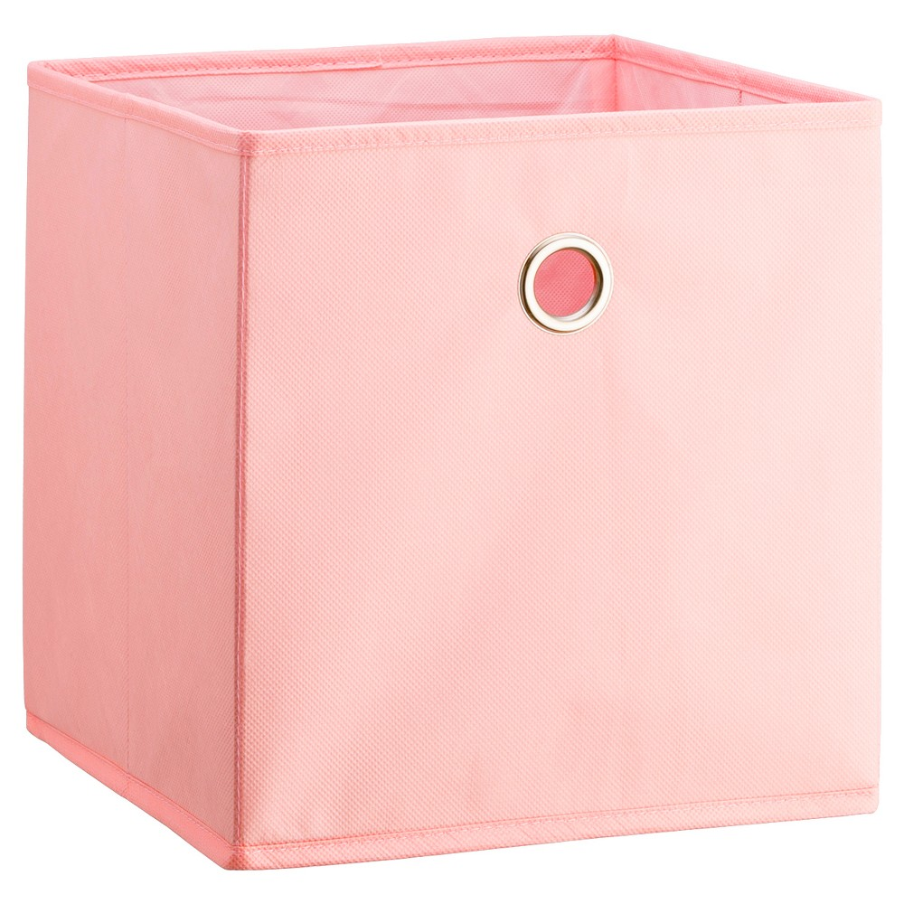 Fabric Cube Storage Bin Light Pink 11 - Room Essentials, Daydream Pink