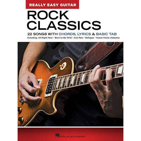 Rock Classics - Really Easy Guitar Series - (Paperback) - image 1 of 1