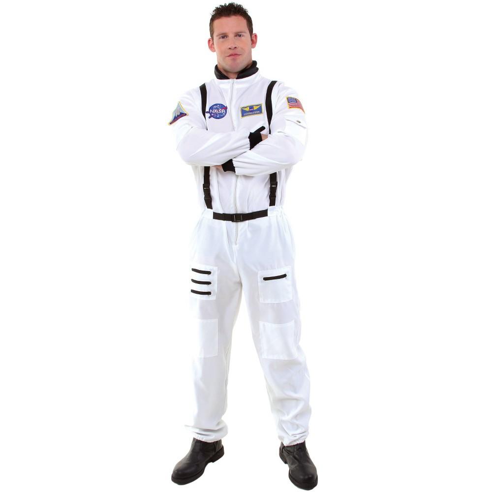 Men's Astronaut Costume - One Size, Multi-Colored