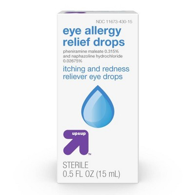 Eye Allergy Relief Drops - 0.5oz - up & up™
