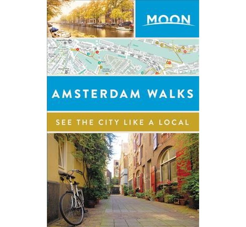 Moon Amsterdam Walks (Paperback) - image 1 of 1