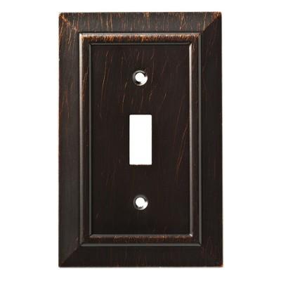 Franklin Brass Classic Architecture Single Switch Wall Plate Venetian Bronze