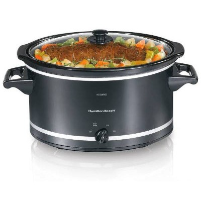 Hamilton Beach 8qt Slow Cooker - Black