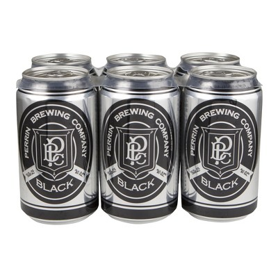 Perrin Black Ale Beer - 6pk/12 fl oz Cans