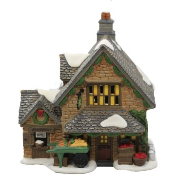 """Department 56 House 6.75"""" Cotswold Greengrocer Dicken's Village  -  Decorative Figurines"""