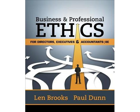 Business and Professional Ethics : For Directors, Executives & Accountants (Paperback) (Leonard J. - image 1 of 1
