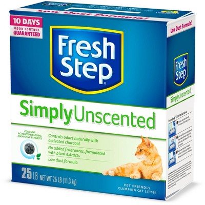 Cat Litter: Fresh Step Simply Unscented