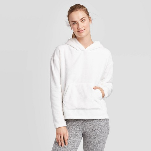 Women's Performance Luxe Fleece Hooded Pullover - C9 Champion® - image 1 of 2