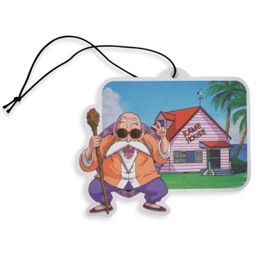 Just Funky Dragon Ball Z Master Roshi Kame House Air Freshener | Tropical Scent