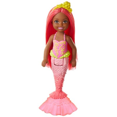 Barbie Dreamtopia Chelsea Mermaid Red Hair Doll