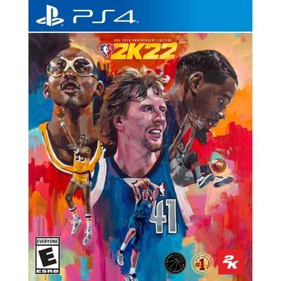 NBA 2K22: 75th Anniversary Edition - PlayStation 4