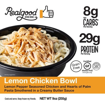 Real Good Gluten Free Frozen Lemon Chicken Bowl - 9oz