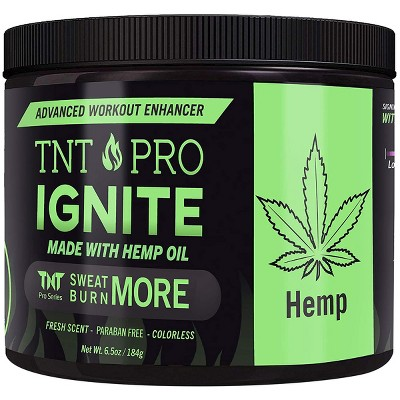 TNT Pro Series Ignite Advanced Workout Enhancer Fat Burning Sweat Cream