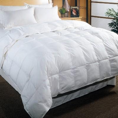 Blue Ridge Cambric Cotton Cover White Down Fabulous Cozy Comforter 233 Thread Count White