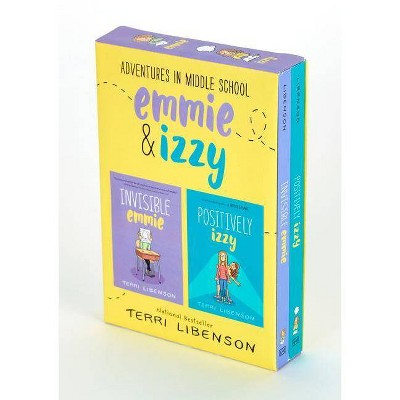 Adventures in Middle School : Invisible Emmie / Positively Izzy -  by Terri Libenson (Paperback)