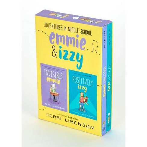 Adventures in Middle School : Invisible Emmie / Positively Izzy -  by Terri Libenson (Paperback) - image 1 of 1