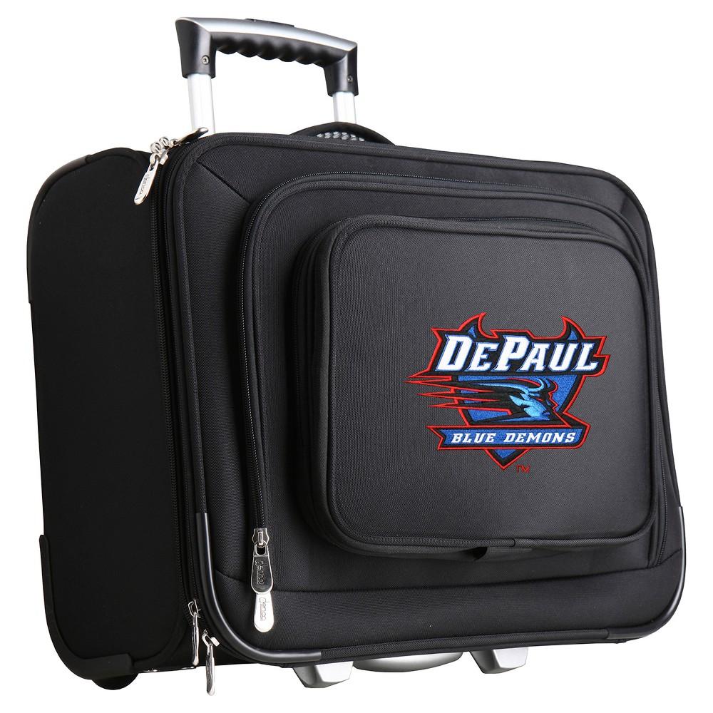 NCAA DePaul Blue Demons Mojo Wheeled Laptop Suitcase