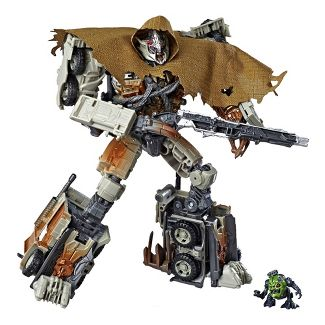 """Transformers Toys Studio Series 34 Leader Class Dark of the Moon Movie Megatron with 8.5"""" Igor Action Figure"""