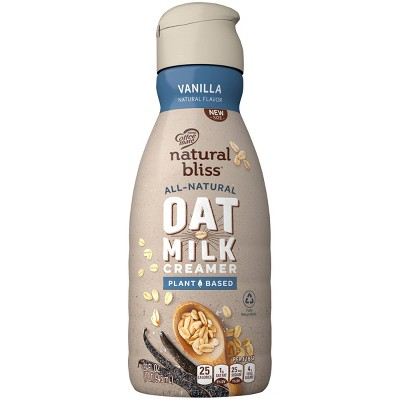 Coffee mate Natural Bliss Plant Based Vanilla OatMilk Coffee Creamer - 1qt