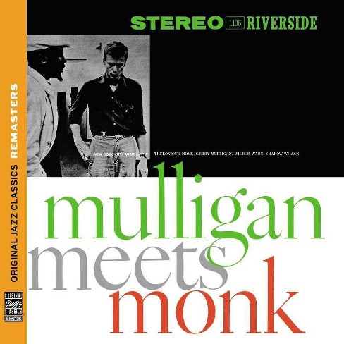 Gerry Mulligan - Mulligan Meets Monk (CD) - image 1 of 1