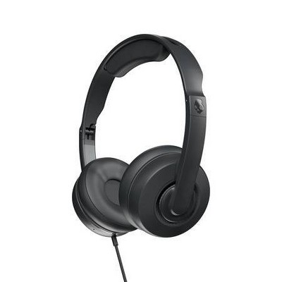 Skullcandy Cassette Junior Volume-Limiting Wired Headphones - Black