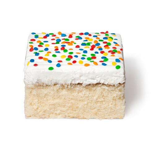 White Cake Slice 1lb