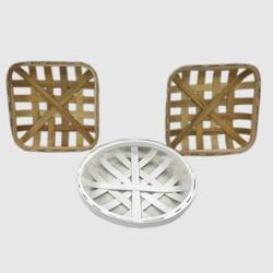 3pk Wood Basket Trays - Bullseye's Playground™