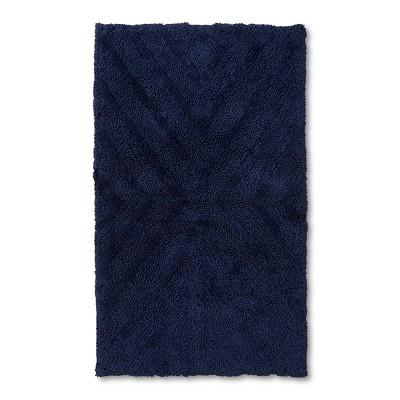 34 x20  Tufted Bath Rug Oxford Blue 20 x34  - Project 62™ + Nate Berkus™