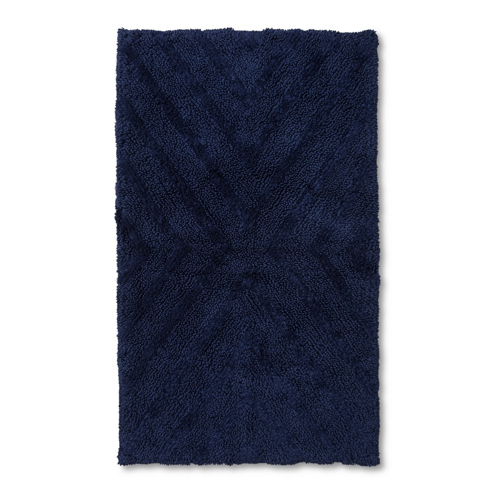 "Image of ""34""""x20"""" Tufted Bath Rug Navy 20""""x34"""" - Project 62 + Nate Berkus , Size: 34""""x20"""", Oxford Blue"""