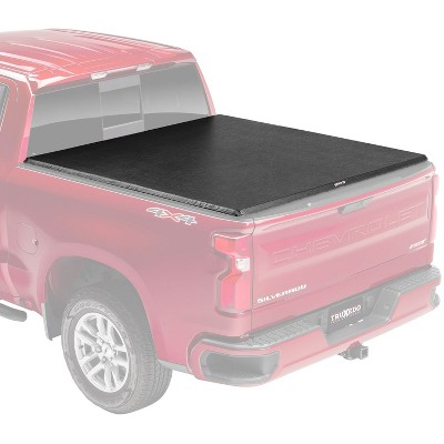 """Truxedo 272401 TruXport Tonnueau Soft Top Roll Up Truck 5'9"""" Bed Cover for 2019-2020 Chevrolet Silverado 1500 and GMC Sierra 1500 69.9 Bed"""