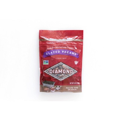 Diamond Glazed Pecans - 5.5oz