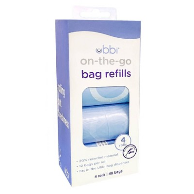 Ubbi On-the-Go Bags Dispenser Refills