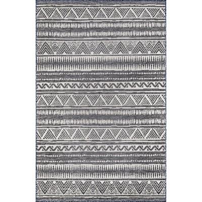 nuLOOM Maia Striped Tribal Indoor/Outdoor Area Rug