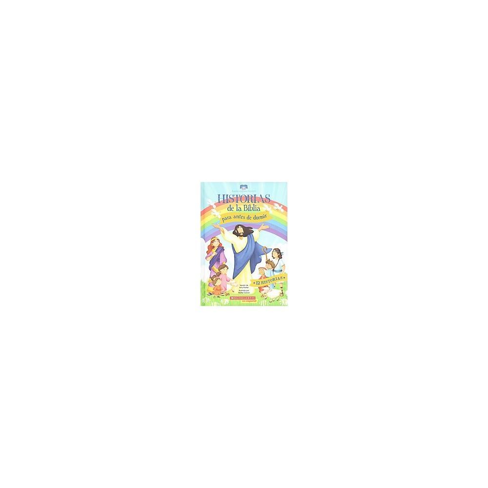 Historias de la Biblia para antes de dormir (Hardcover) (Amy Parker)