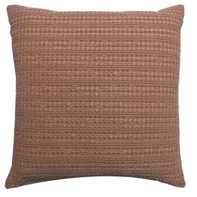 Oversized Square Washed Waffle Pillow Bronze - Threshold™